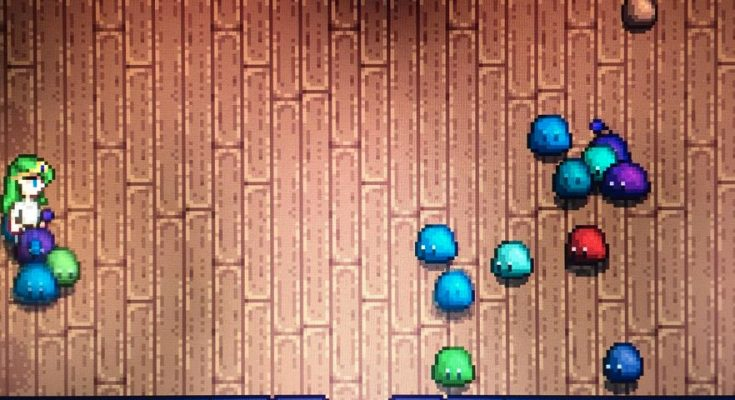 Stardew Valley Big Slimes Can Drop Pink Cakes