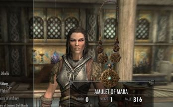 Skyrim Fan Makes Amulet of Mara Out of Real Silver